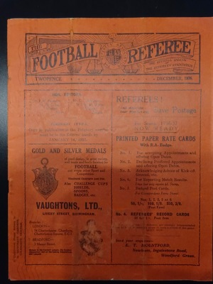 Football Referee - 1936-12 - December, The
