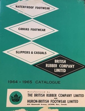 BRITISH RUBBER COMPANY LIMITED 1964*1965 CATALOGUE