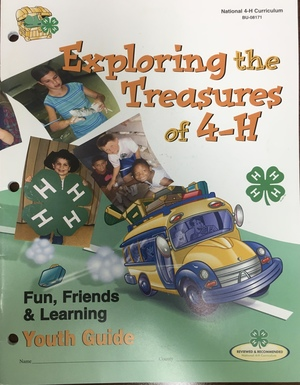 Exploring the Treasures of 4-H Youth Guide