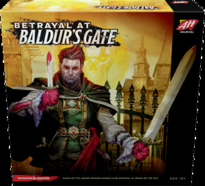 Betrayal at Baldur's Gate with Promo Card Pack