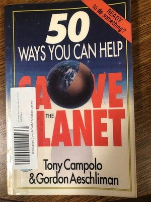 50 Ways You Can Help Save the Planet
