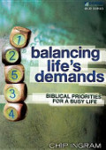 Balancing Life's Demands Study Guide: Biblical Priorities for a Busy Life