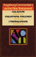 Acnt Galatians Phillippians (Augsburg Commentary on the New Testament)
