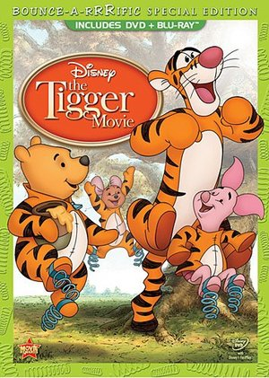 Tigger Movie: Bounce-A-Rrrific Special Edition (Two-Disc Blu-ray/DVD Combo in DVD Packaging), The
