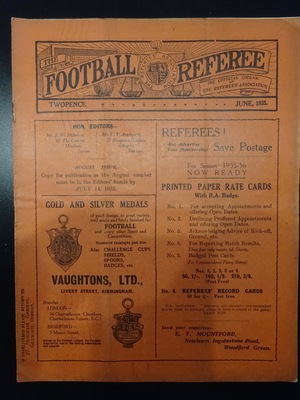 Football Referee - 1935-06 - June, The