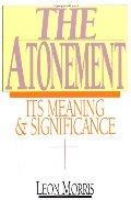 Atonement: Its Meaning and Significance, The