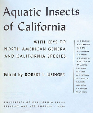 Aquatic Insects of California