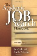 Academic Job Search Handbook, 4th Edition, The
