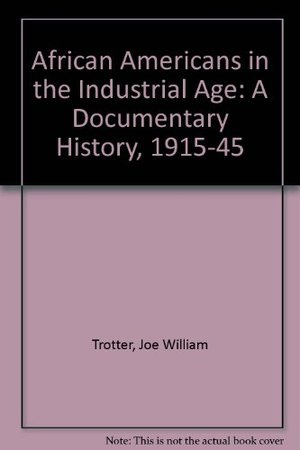 African Americans In The Industrial Age: A Documentary History, 1915-1945