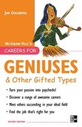 Careers for Geniuses & Other Gifted Types (McGraw-Hill Careers for You)