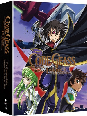Code Geass Lelouch of the Rebellion Collector's Edition (Blu-ray)