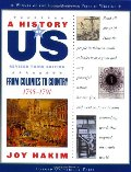A_History of US: From Colonies to Country: 1735-1791 A History of US Book Three
