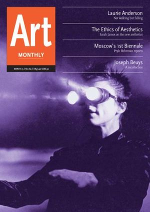 Art Monthly 284: March 2005