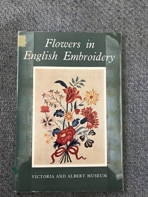 Flowers in English Embroidery