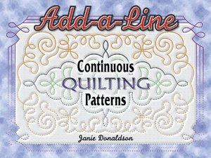 Add A Line Continuous Quilting Patterns
