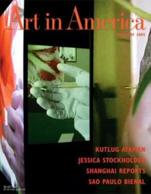 Art In America Magazine (February 2005) #2, Kutlung Ataman