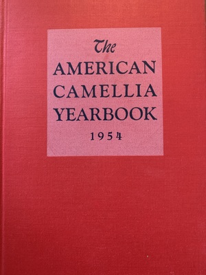 American Camellia Yearbook 1954