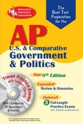 AP Government & Politics w/CD-ROM (REA) - The Best Test Prep: 8th Edition (Test Preps)
