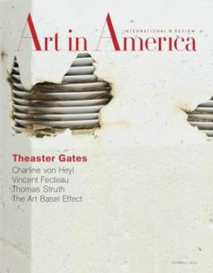 Art In America Magazine (December 2011) #11 , Theaster Gates