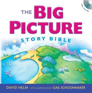 Big Picture Story Bible with CD