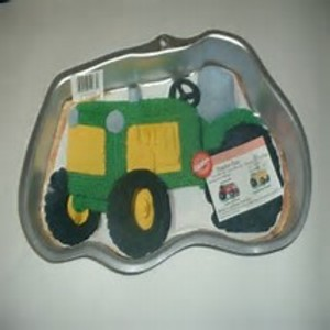 Tractor Cake Pan