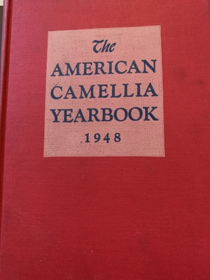 American Camellia Yearbook 1948