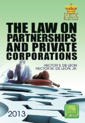 Law On Partnerships And Private Corporations, The