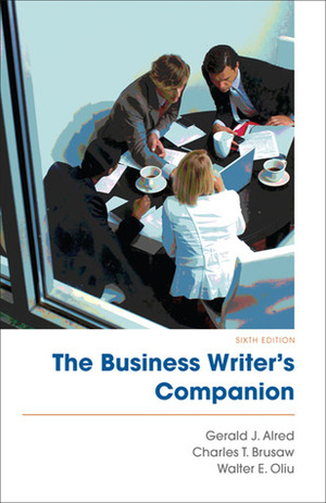 Business Writer's Companion, The