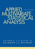 Applied Multivariate Statistical Analysis (6th Edition)