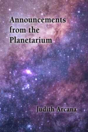Announements from the Planetarium