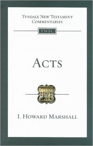 ACTS ( Tyndale New Testament Commentaries #5 )