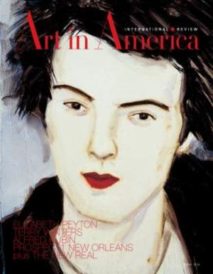 Art In America Magazine (Feburary 2009) INTERNATIONAL REVIEW #2, Elizabeth peyton, John Simon Beverley Ritchie