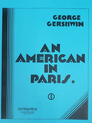 GERSHWIN, G.: An American In Paris (Score)