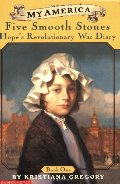 Five Smooth Stones: Hope's Revolutionary War Diary (My America)(Book One)