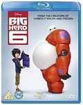 Big Hero 6 [Blu-ray] [Region-Free] [UK Import]