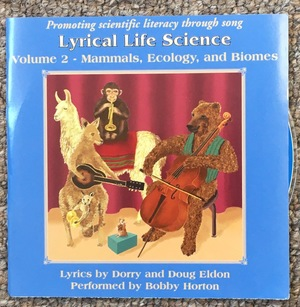 Lyrical Life Science Volume 2 CD- Mammals, Ecology and Biomes