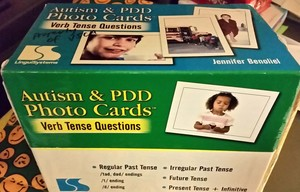 Autism & PDD Photo Cards Verb Tense Questions