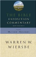 Bible Exposition Commentary, Vol. 1: New Testament