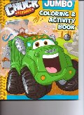 Chuck & Friends Jumbo Coloring & Activity Book (Tonka Town)