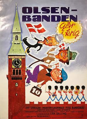 Ballade på Christianshavn [Our Home is Our Castle] | Olsen-banden går i krig [The Olsen Gang Goes to War] | Babs og Nutte VHS