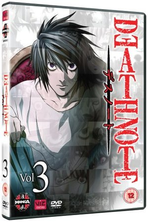 Death Note - Volume 3 (Episodes 17-24) [2006] [DVD]