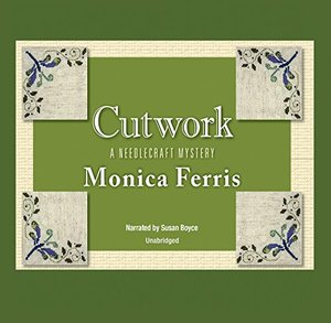 Cutwork Lib/E (A Needlecraft Mystery) CD, Audiobook