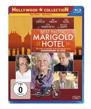 Best Exotic Marigold Hotel [Blu-ray]