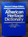 American Heritage Dictionary, Second College Edition