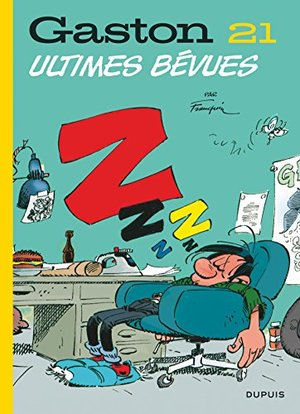 Gaston (Edition 2018) - Tome 21 - Ultimes bévues (Edition 2018)