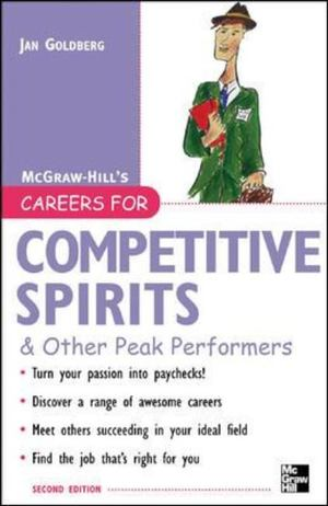 Careers for Competitive Spirits and Other Peak Performers