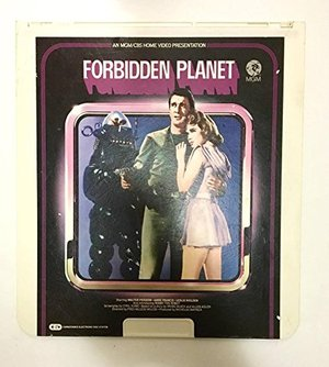 1980 Forbidden Planet Laser Disc : MGM CBS Home Video 1956 Lowes Capacitance Electronic Disc System : Leslie Nielsen Walter Pidgeon Anne Francis Robbie the Robot 07464373842