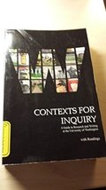 CONTEXTS F/INQUIRY W/READINGS >CUSTOM