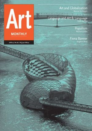 Art Monthly 287: June 2005