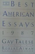 Best American Essays 1987, The